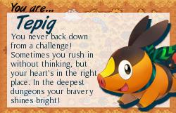 I am Tepig!